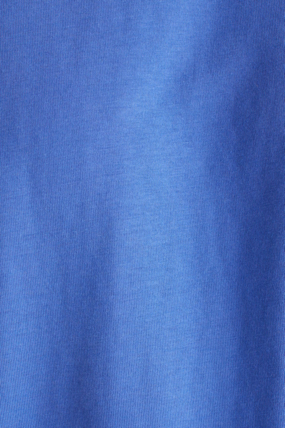 Oversized top in cotton jersey, BRIGHT BLUE, detail image number 4