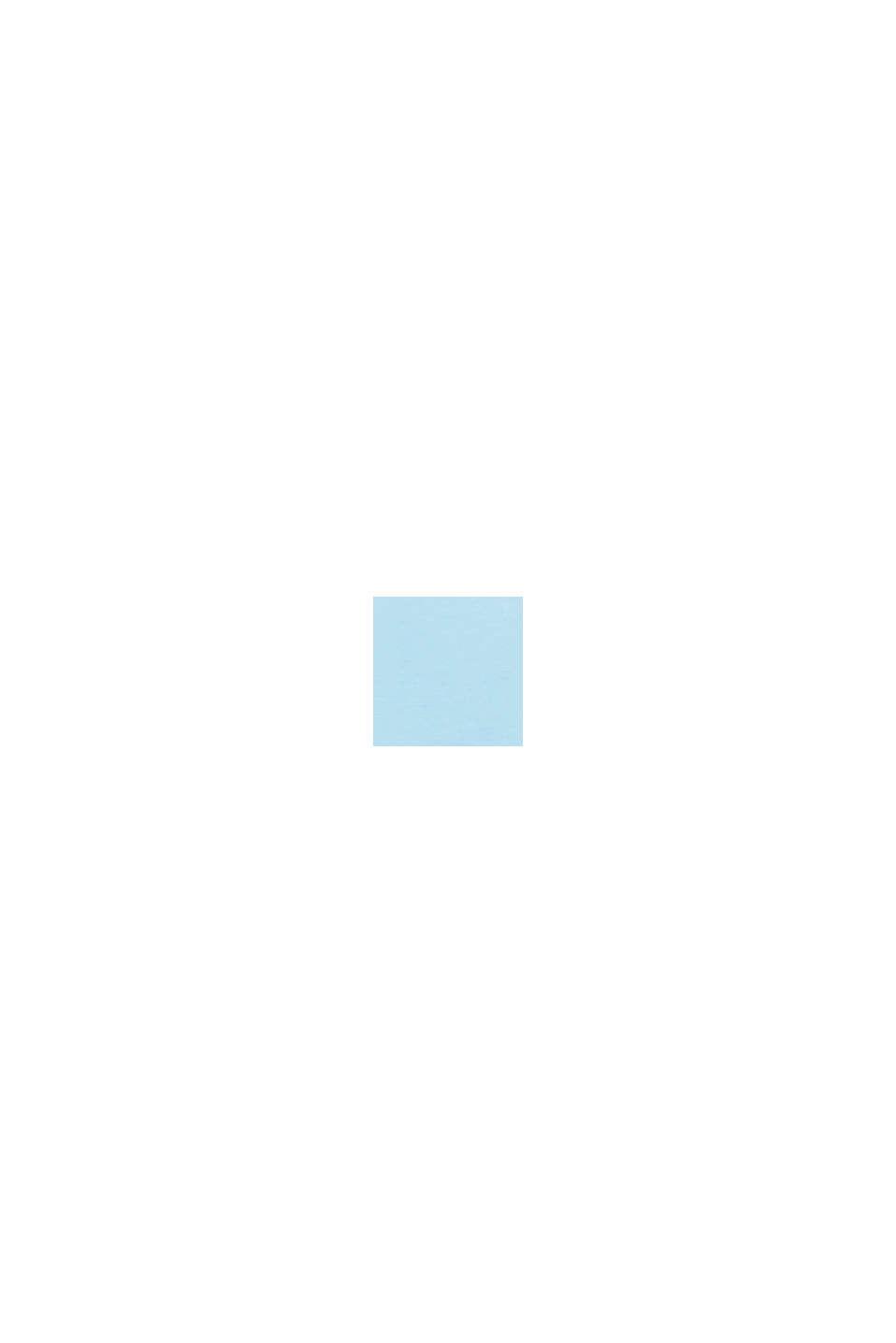 Oversized-Shirt aus Baumwoll-Jersey, LIGHT BLUE, swatch