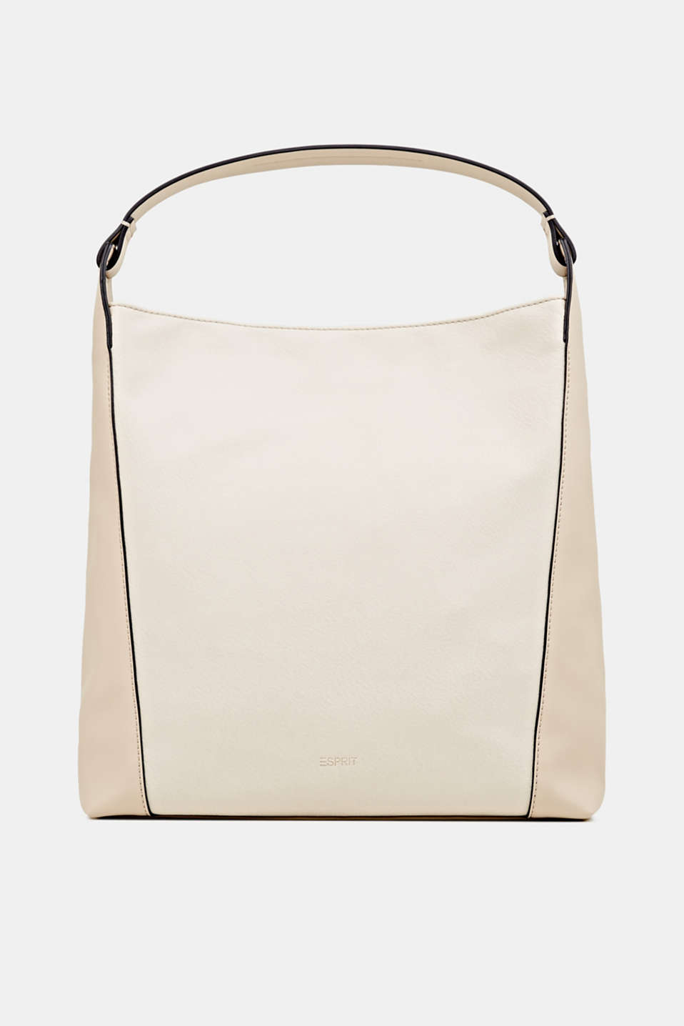 Esprit - Material mix shoulder bag, vegan