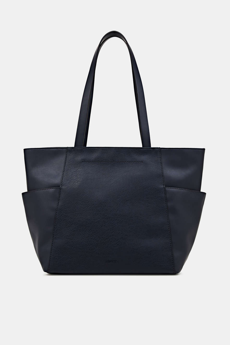 Material mix shopper, vegan, NAVY, detail image number 0
