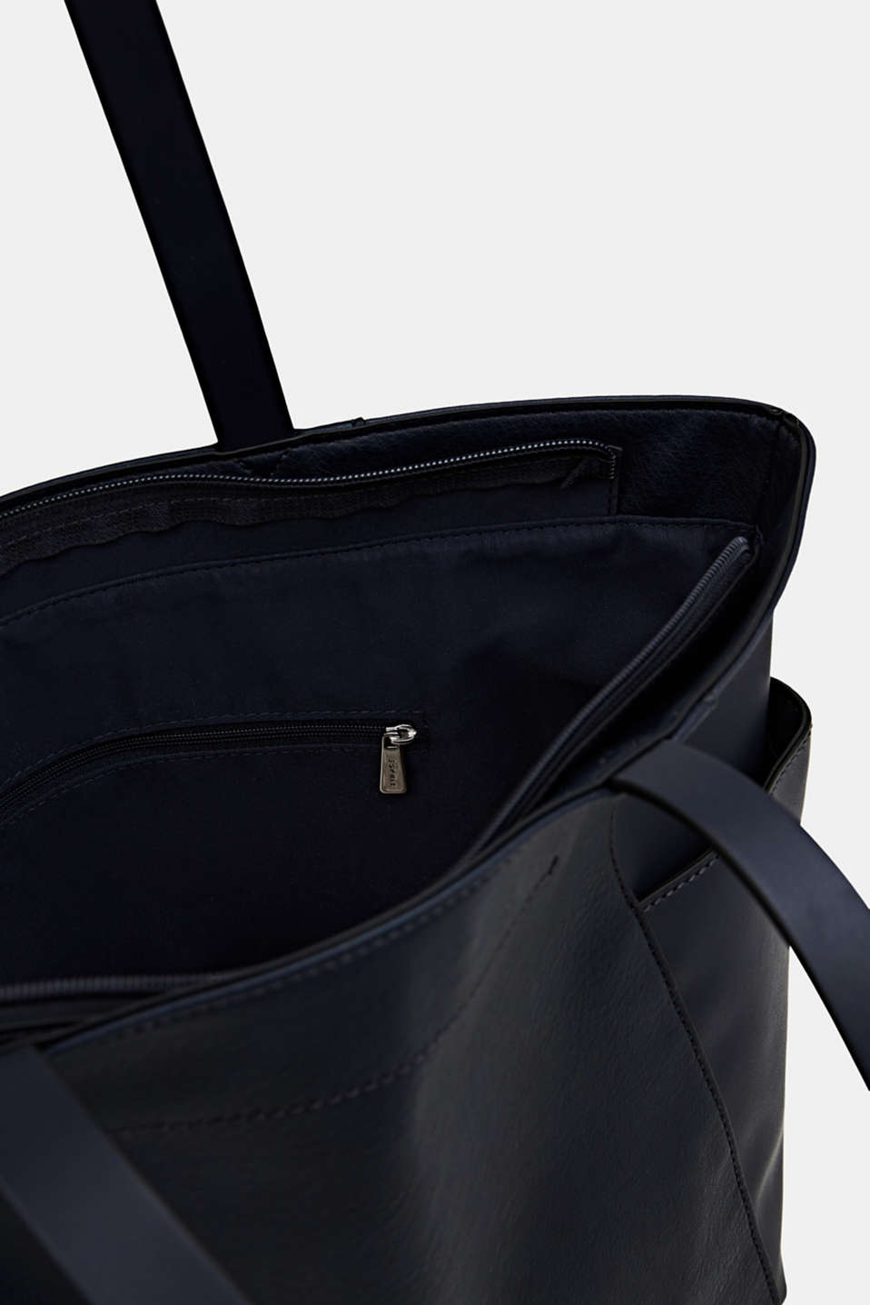 Material mix shopper, vegan, NAVY, detail image number 4