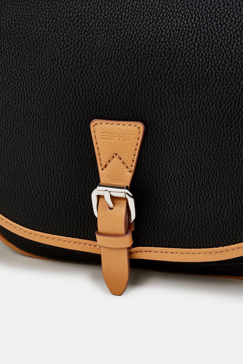 Susie T. shoulder bag, BLACK, detail image number 2