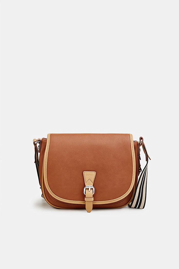 Borsa a tracolla Susie T., vegan, RUST BROWN, detail image number 0