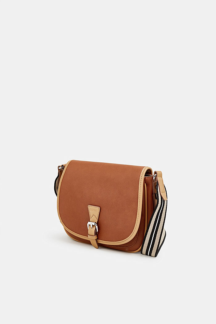 Borsa a tracolla Susie T., vegan, RUST BROWN, detail image number 2