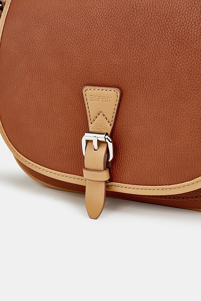 Borsa a tracolla Susie T., vegan, RUST BROWN, detail image number 6