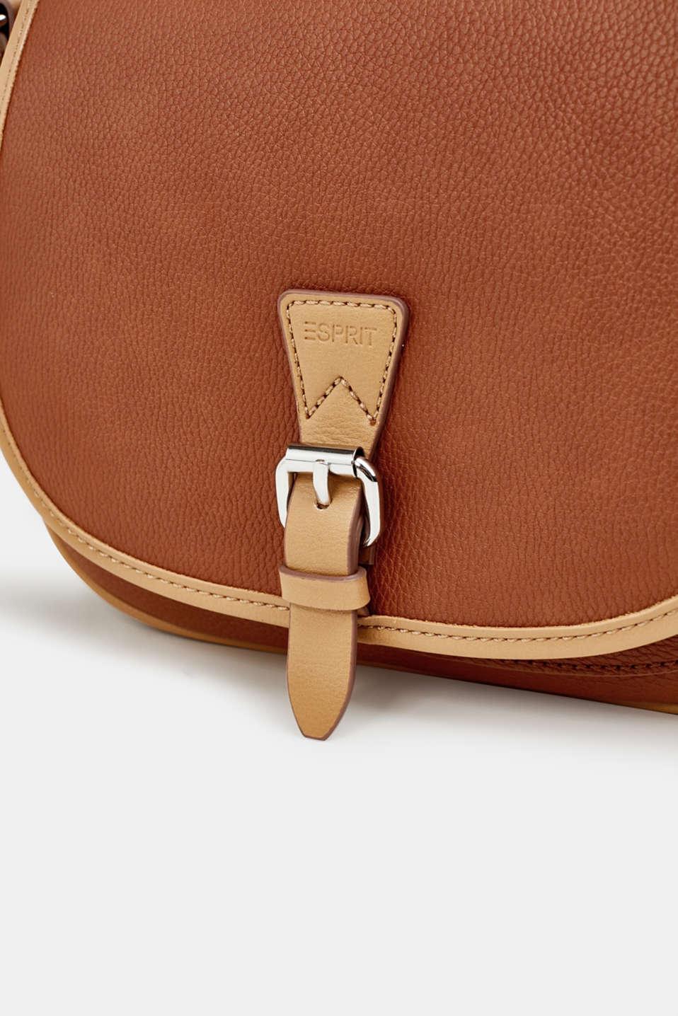 Susie T. shoulder bag, RUST BROWN, detail image number 6