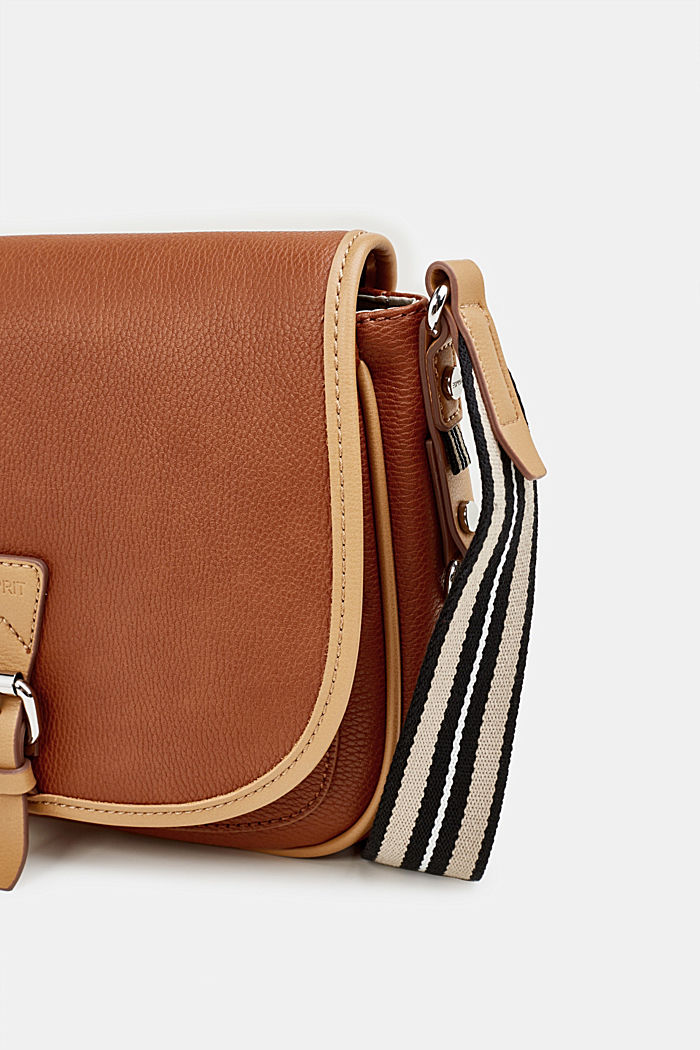 Borsa a tracolla Susie T., vegan, RUST BROWN, detail image number 3