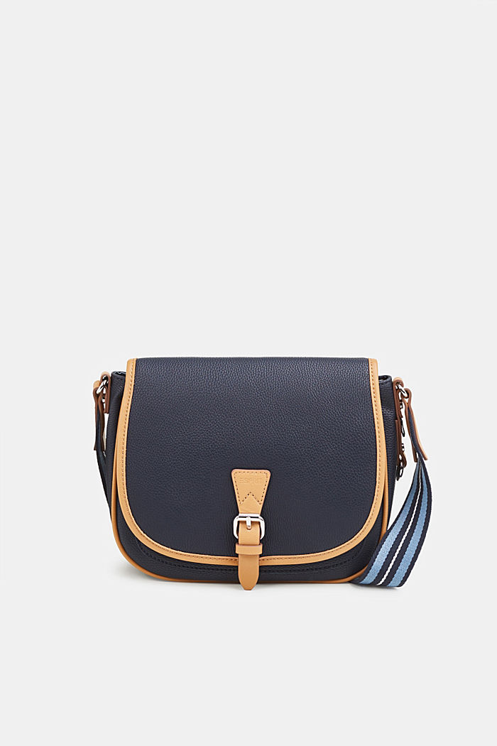 Susie T. shoulder bag, NAVY, detail image number 0