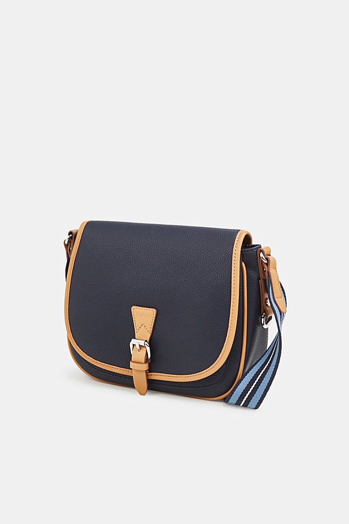 Susie T. shoulder bag, NAVY, detail image number 1