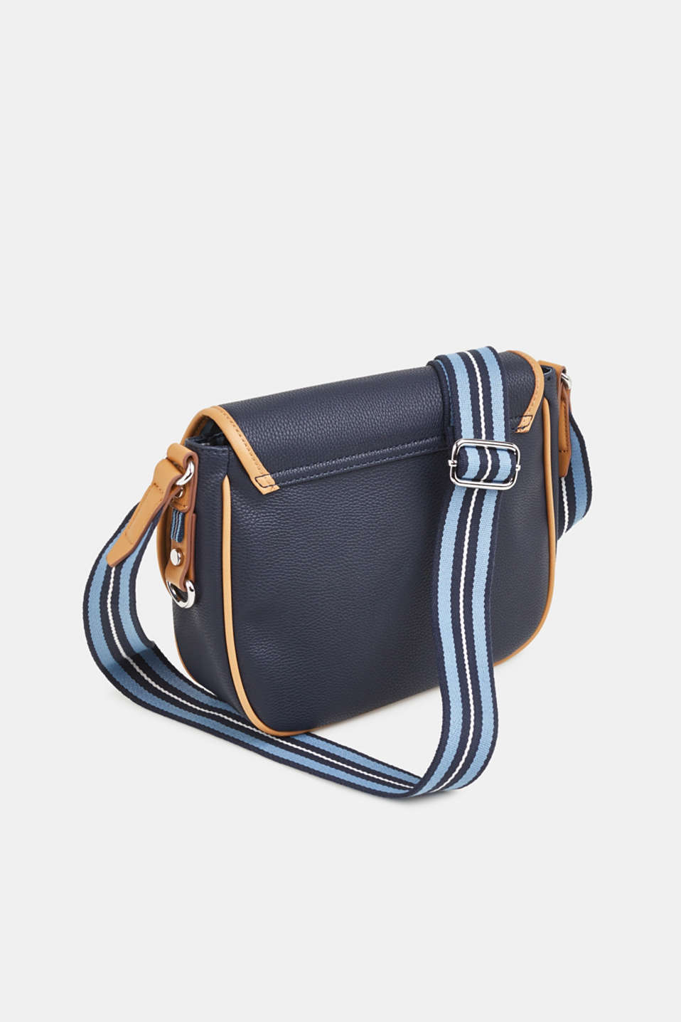 Susie T. shoulder bag, NAVY, detail image number 4