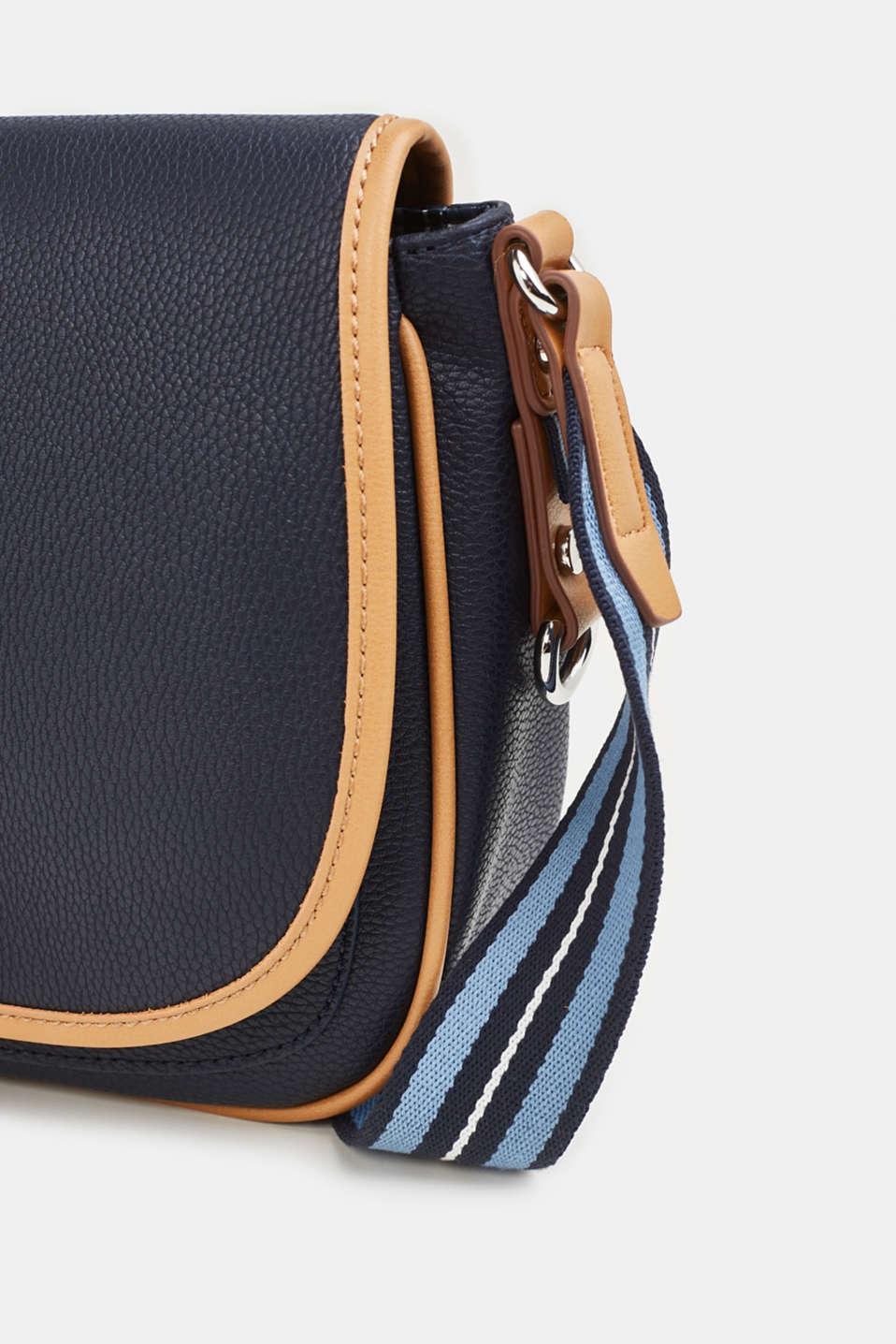 Susie T. shoulder bag, NAVY, detail image number 5