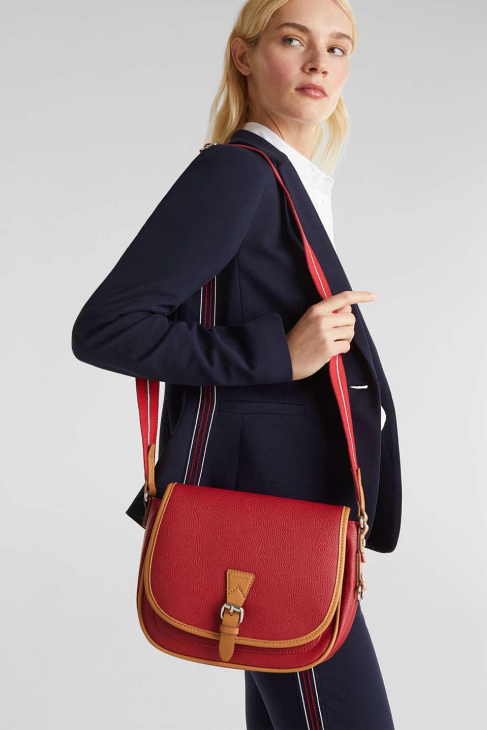 Susie T. shoulder bag, RED, detail image number 1