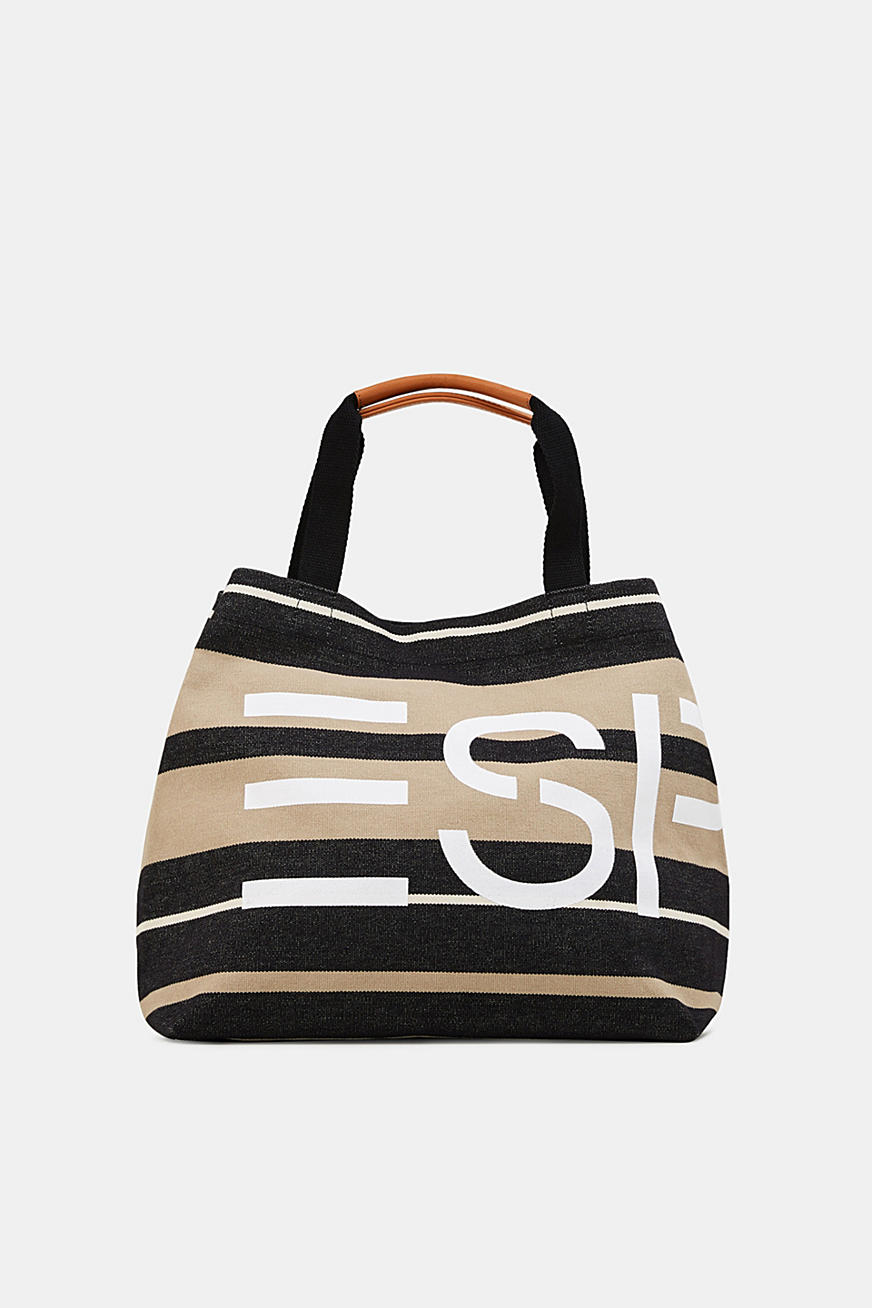Bolso shopper con logotipo estampado