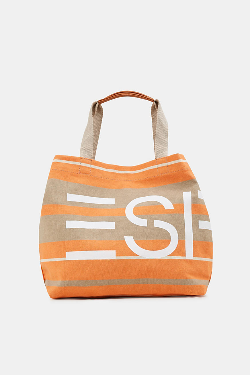 Shopper met logoprint