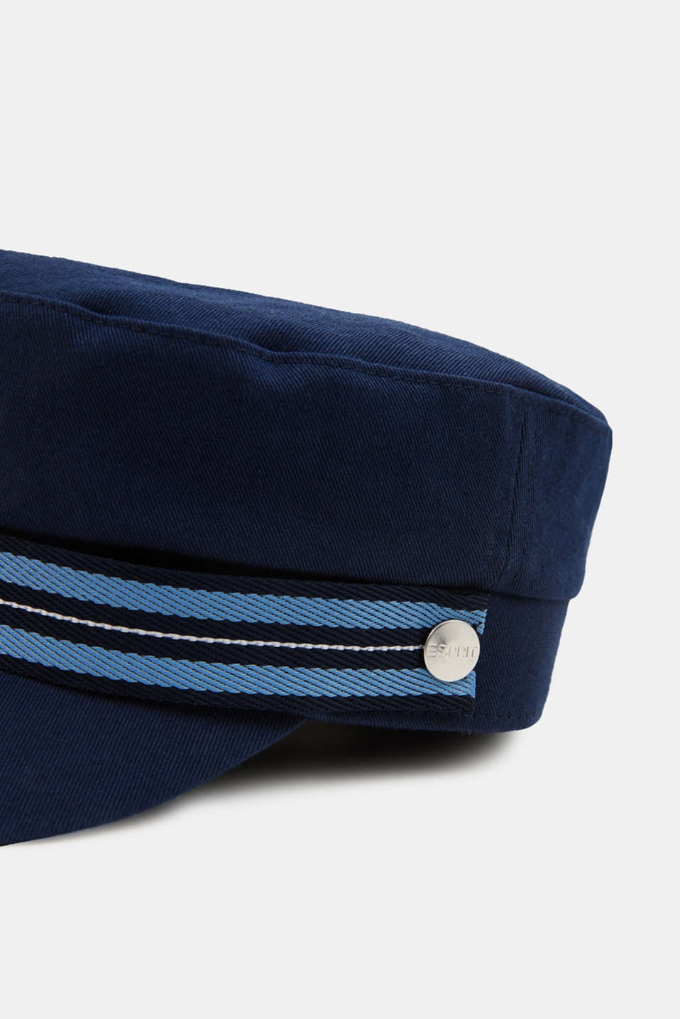 Sailor's cap made of 100% cotton, NAVY, detail image number 1