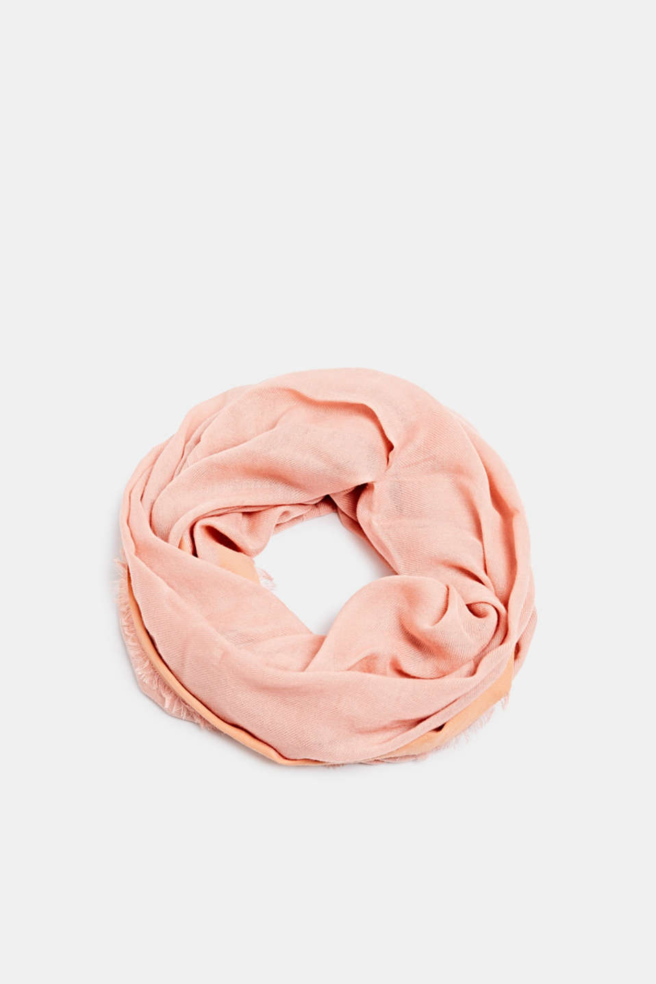 Snood containing LENZING™ ECOVERO™, SALMON, detail image number 0