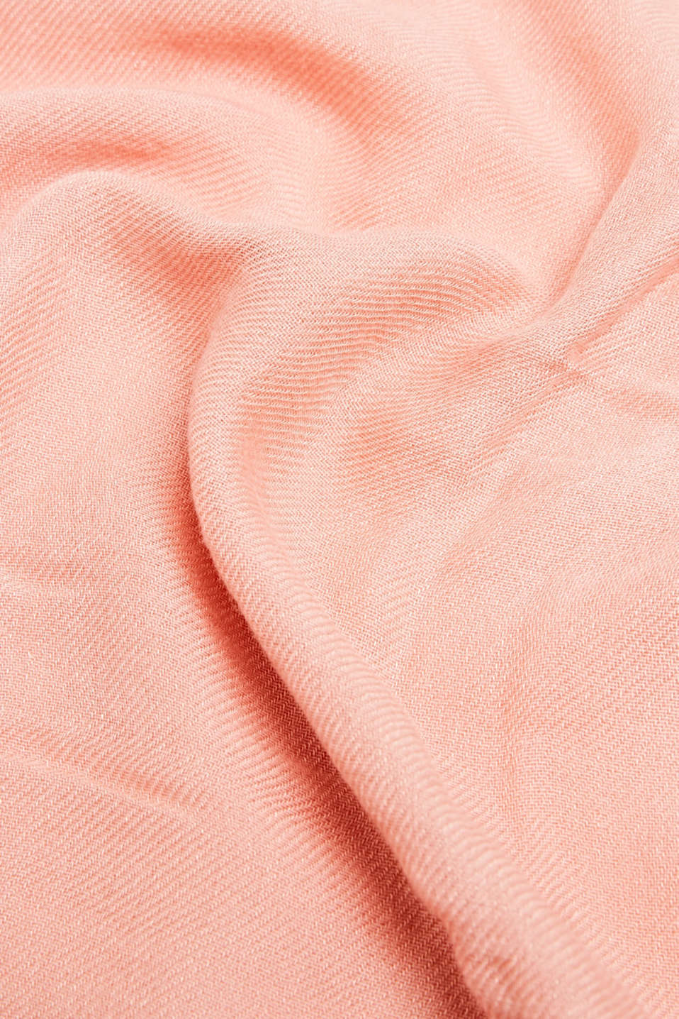 Snood containing LENZING™ ECOVERO™, SALMON, detail image number 2