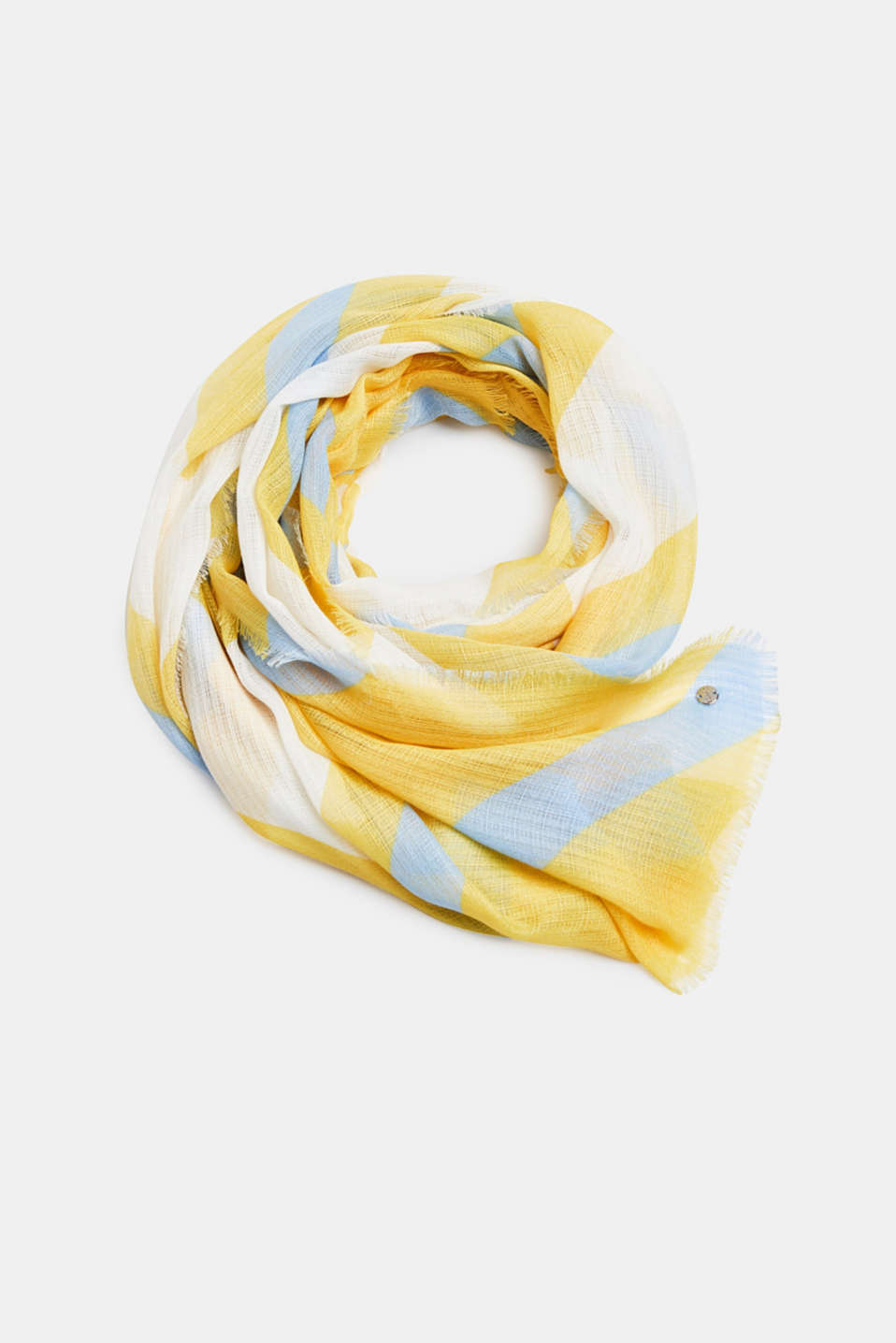 Esprit - Scarf made of recycled material