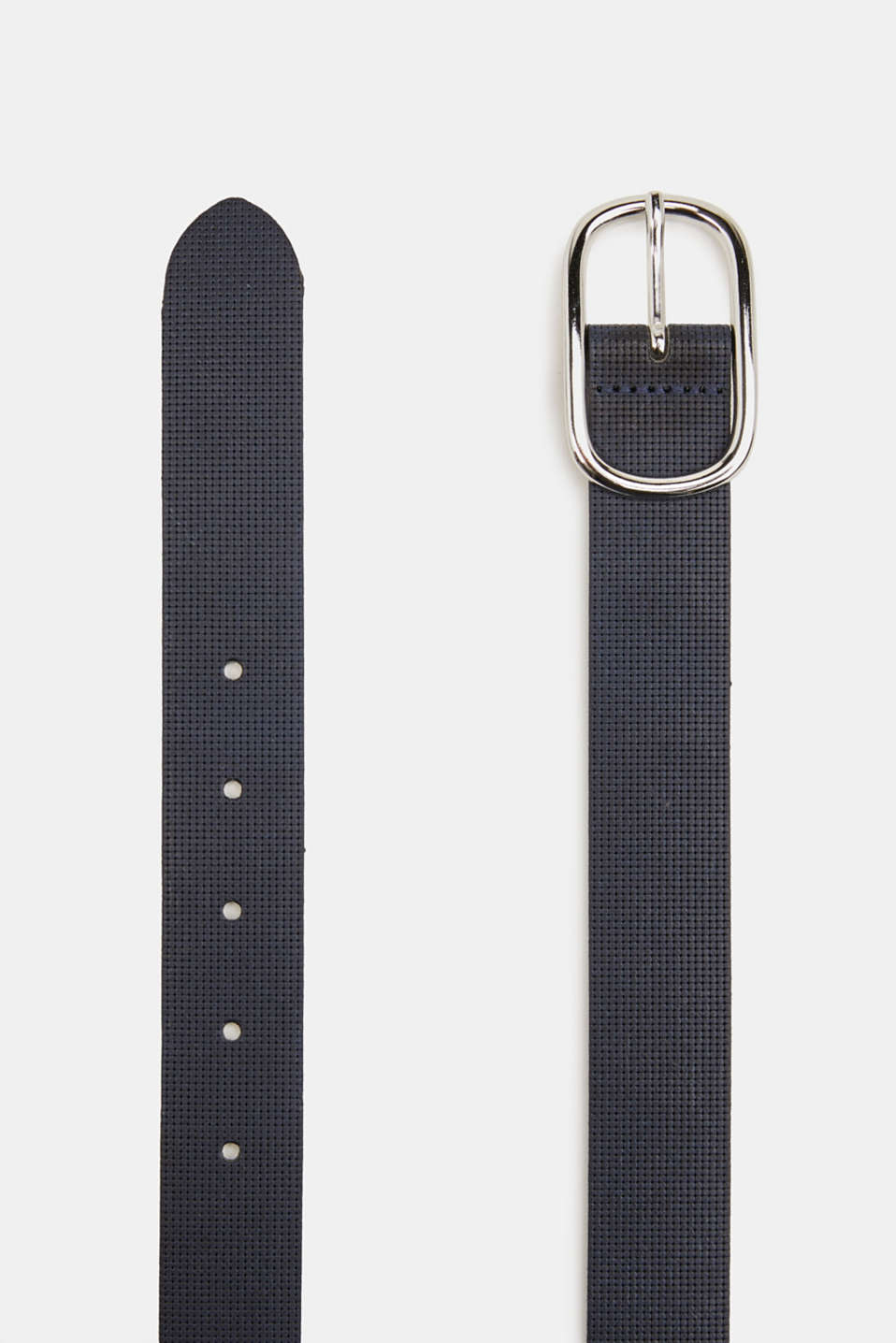 Esprit - Perforated leather belt