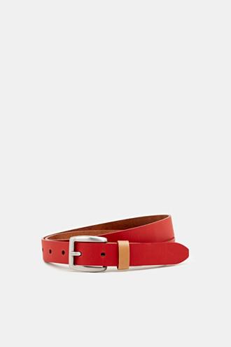 Susie T. range: cowhide leather belt