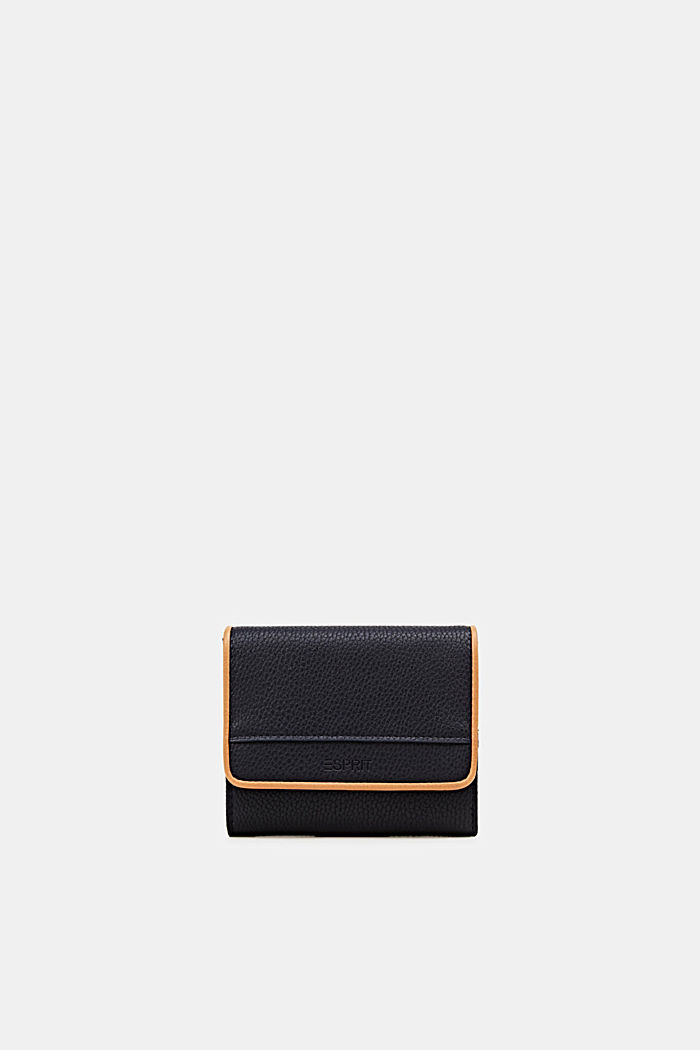 Susie T. range: faux leather purse, NAVY, detail image number 0