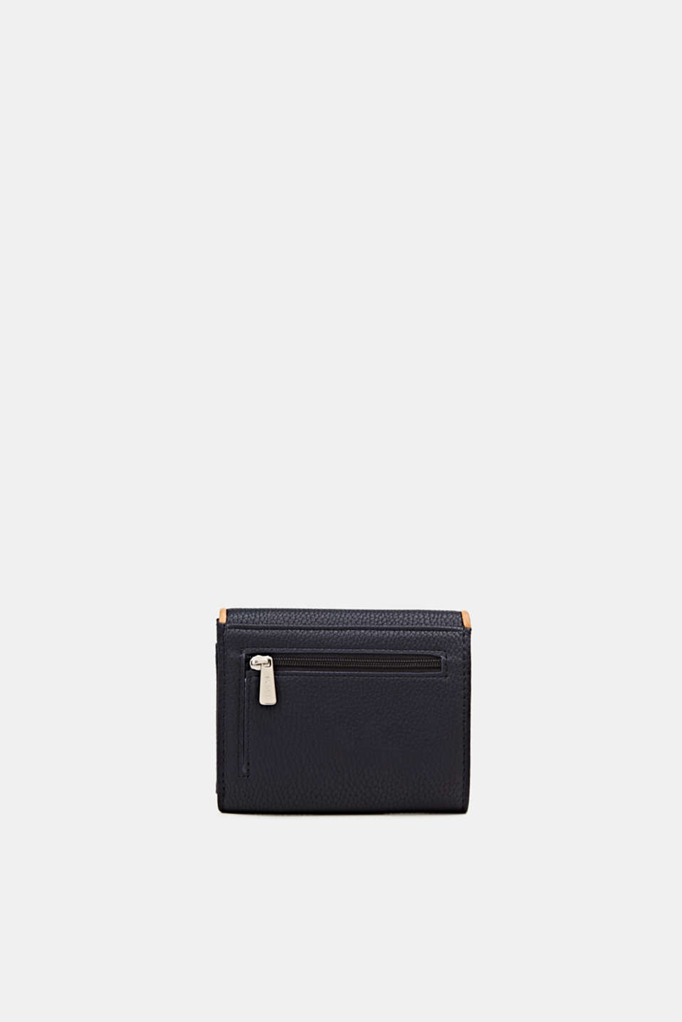 Susie T. range: faux leather purse, NAVY, detail image number 2