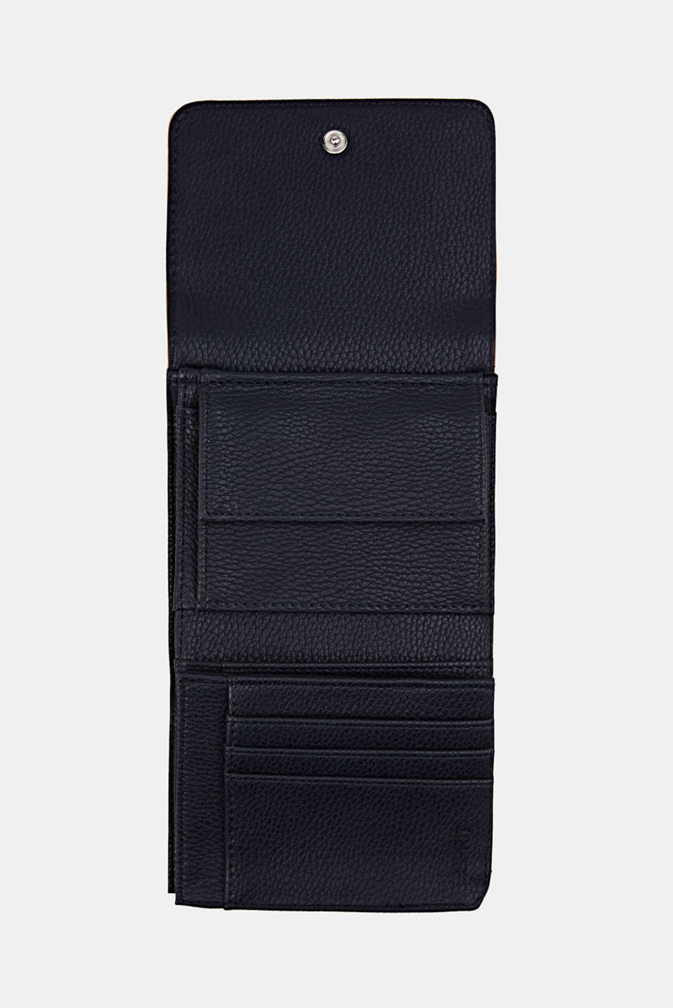 Susie T. range: faux leather purse, NAVY, detail image number 3