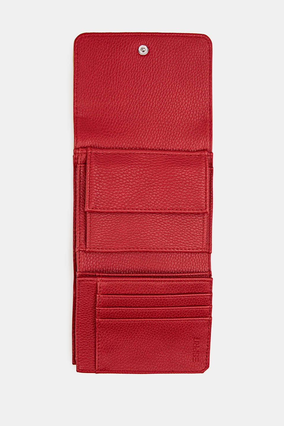 Susie T. range: faux leather purse, RED, detail image number 3