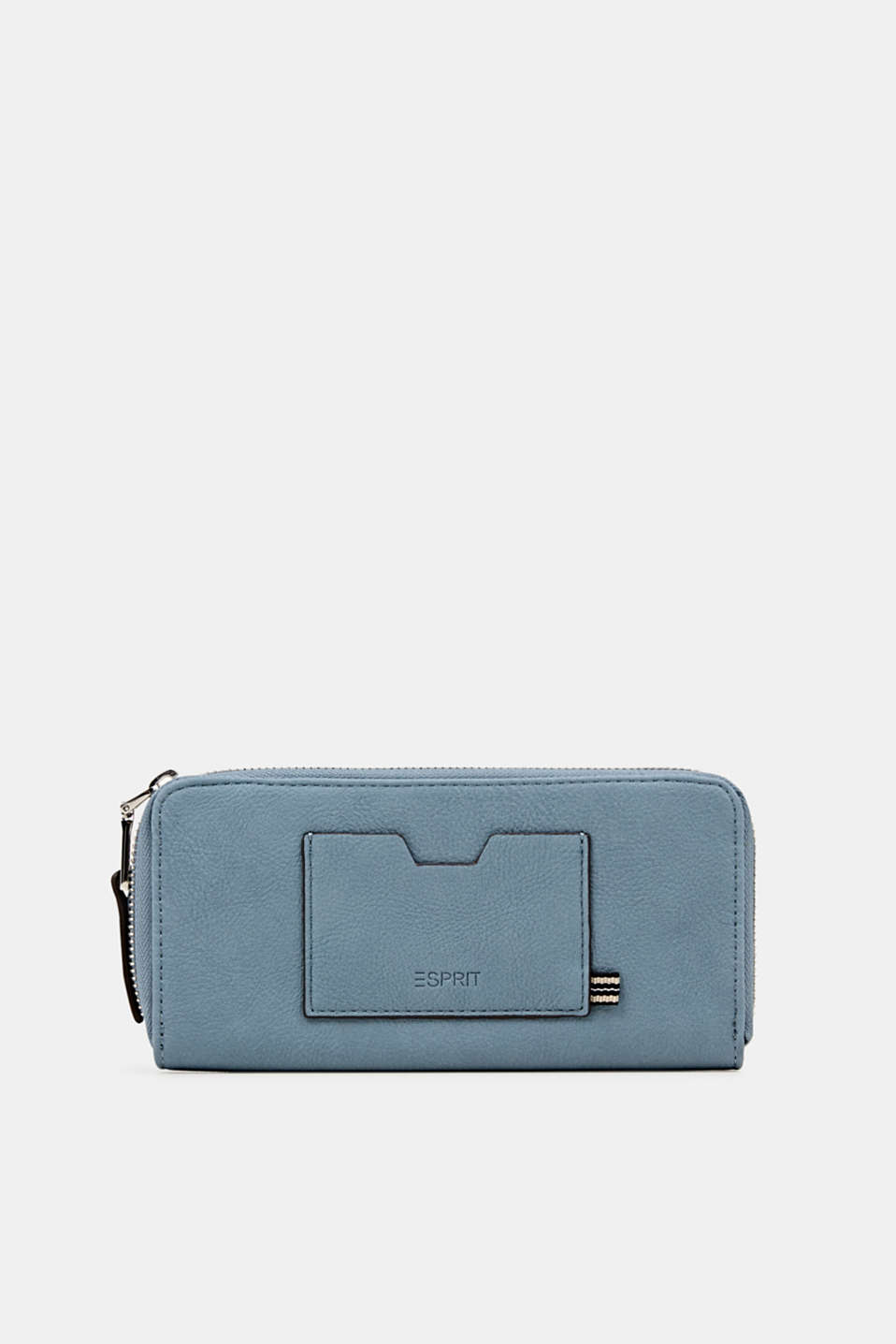 Faux leather purse, LIGHT BLUE, detail image number 0