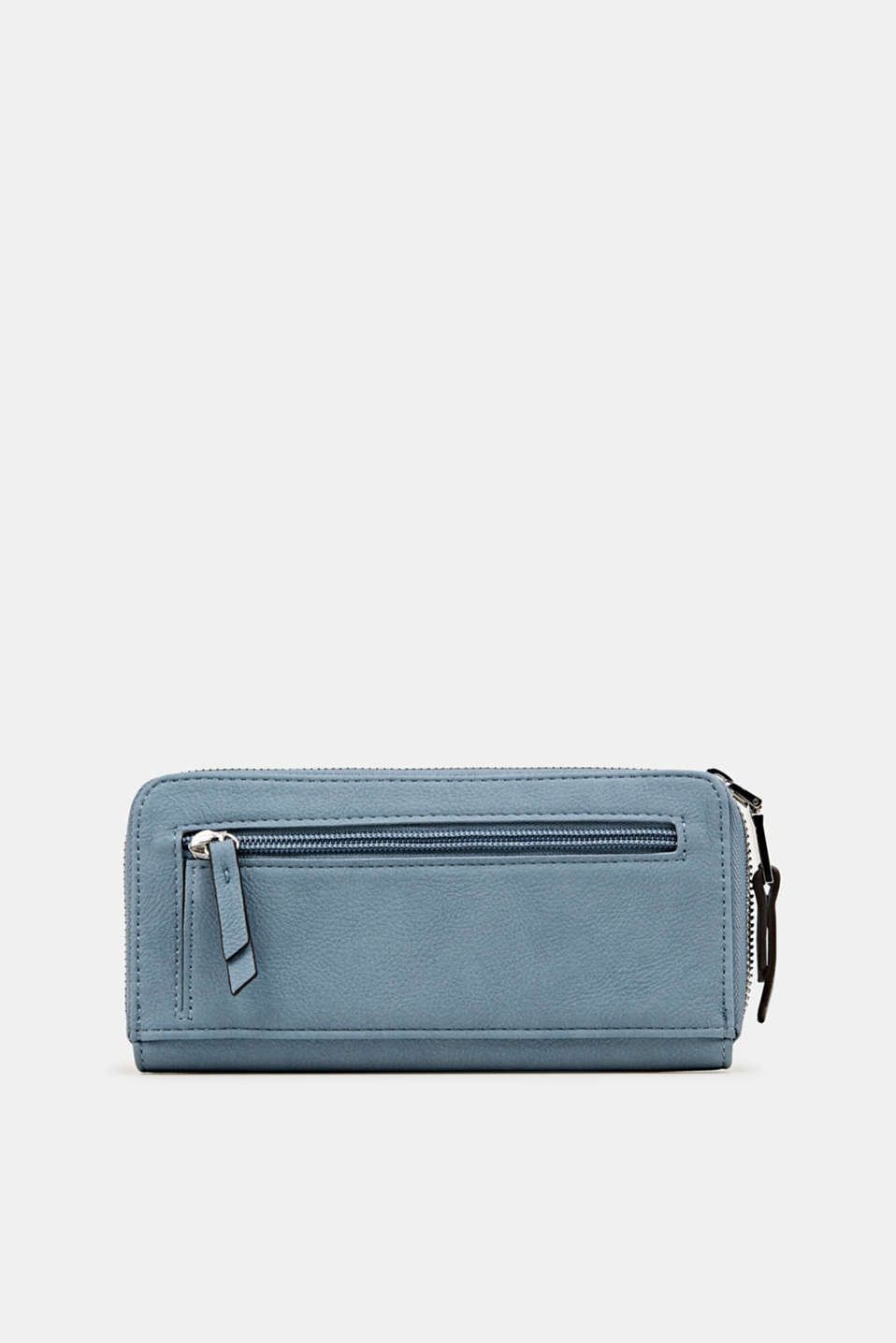 Faux leather purse, LIGHT BLUE, detail image number 2