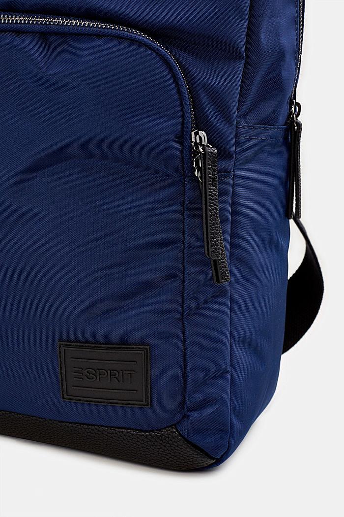 Rucksack aus Nylon, NAVY, detail image number 5