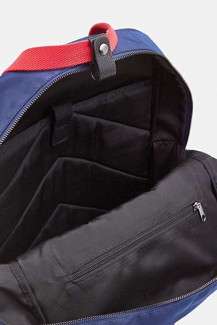 Rucksack aus Nylon, NAVY, detail image number 3