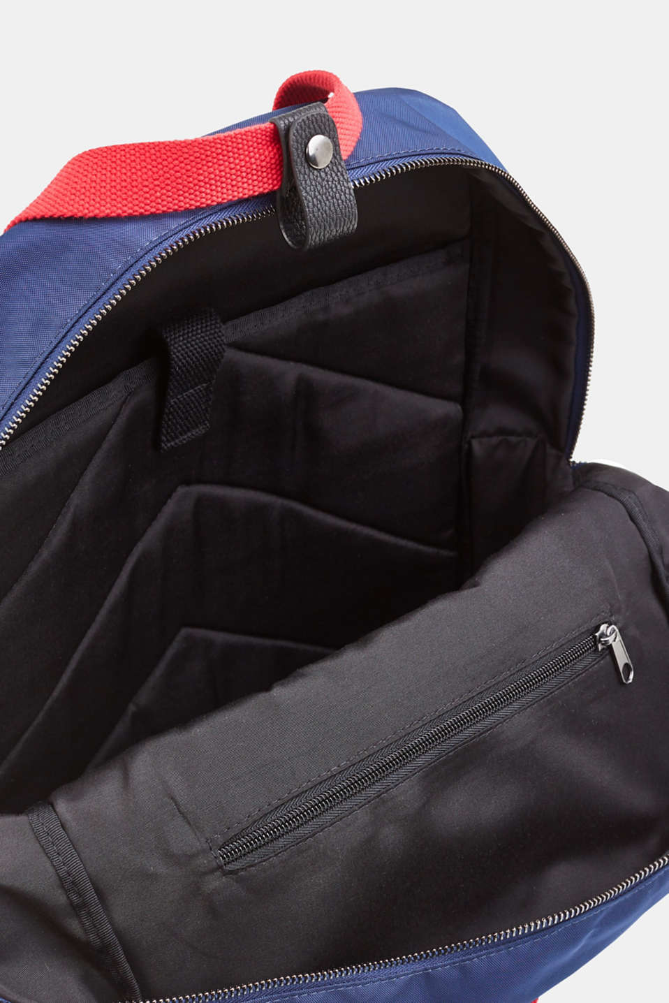 Nylon rucksack, NAVY, detail image number 4