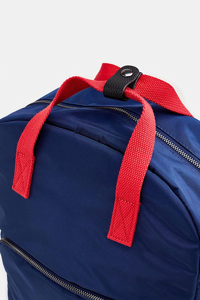 Rucksack aus Nylon, NAVY, detail image number 2