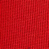 With wool: Beanie with a turn-up cuff, RED, swatch