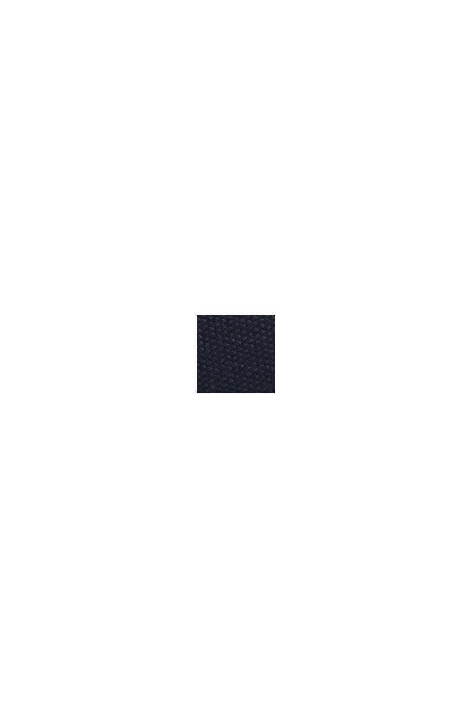 Cintura in tessuto con fibbia in metallo, NAVY, swatch