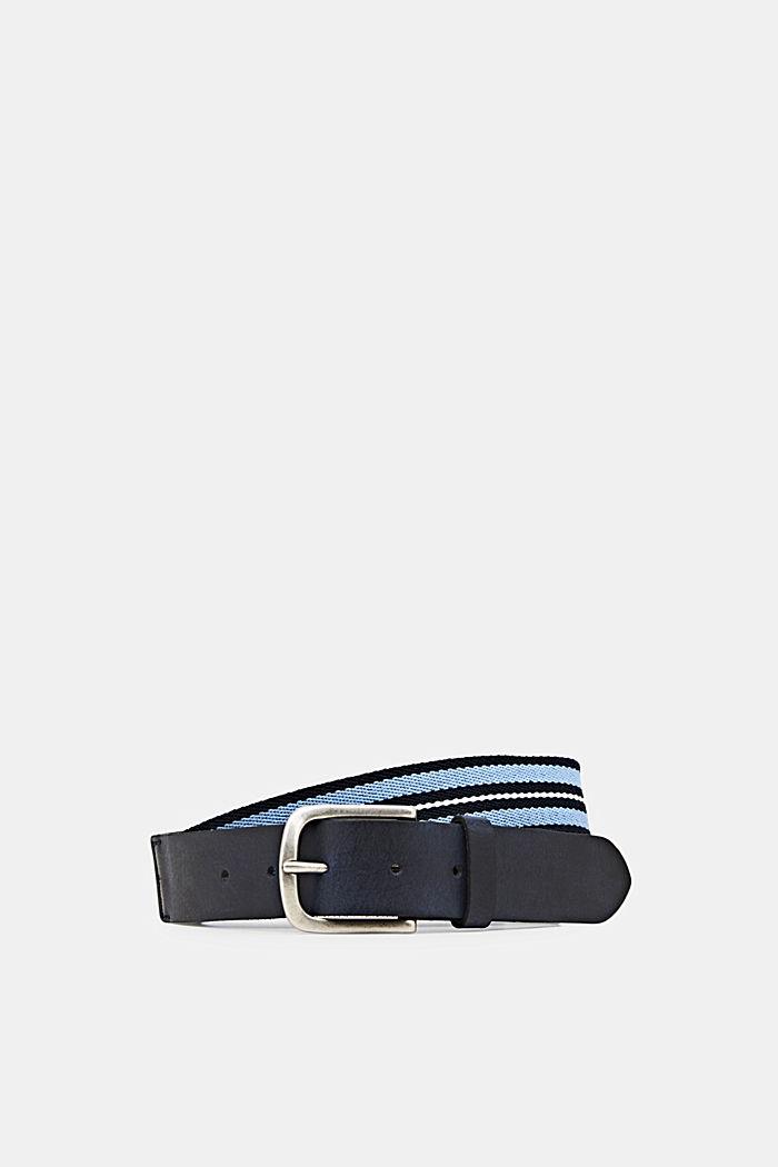 Cinturón en mezcla de materiales