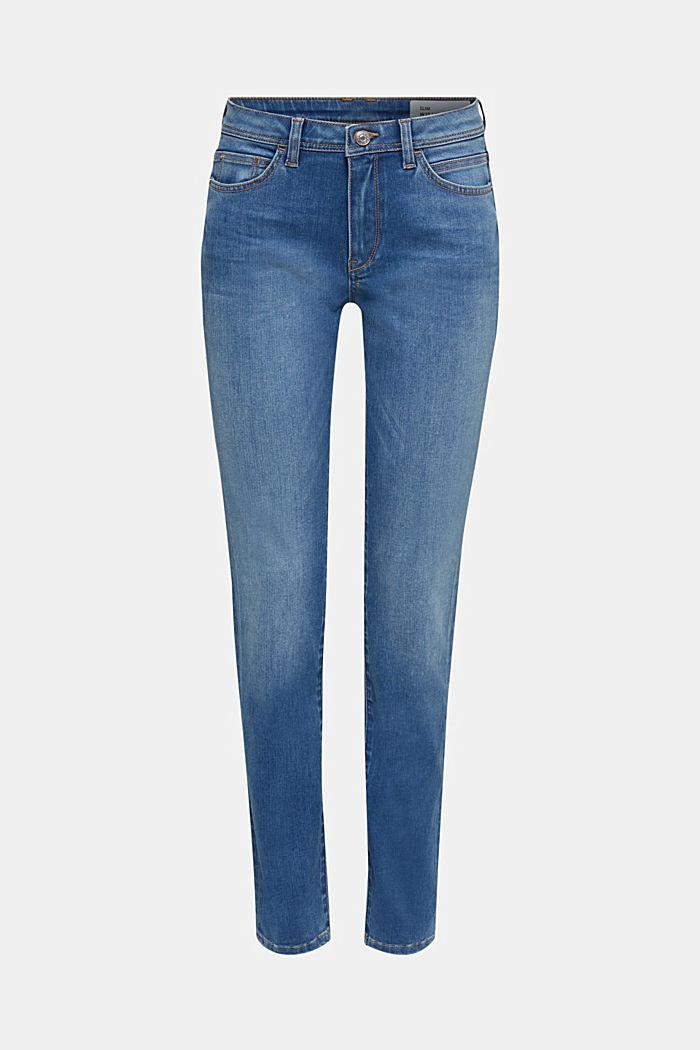 REPREVE Jeans mit recyceltem Polyester, BLUE LIGHT WASHED, detail image number 2