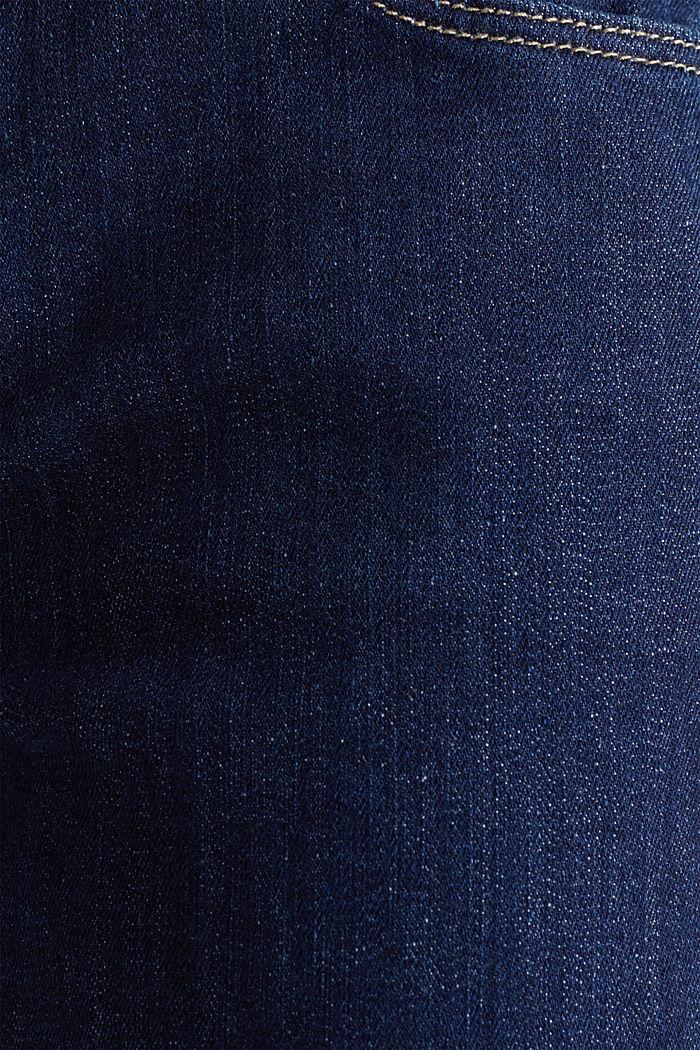Jeans mit Bandana-Bindegürtel, BLUE RINSE, detail image number 4