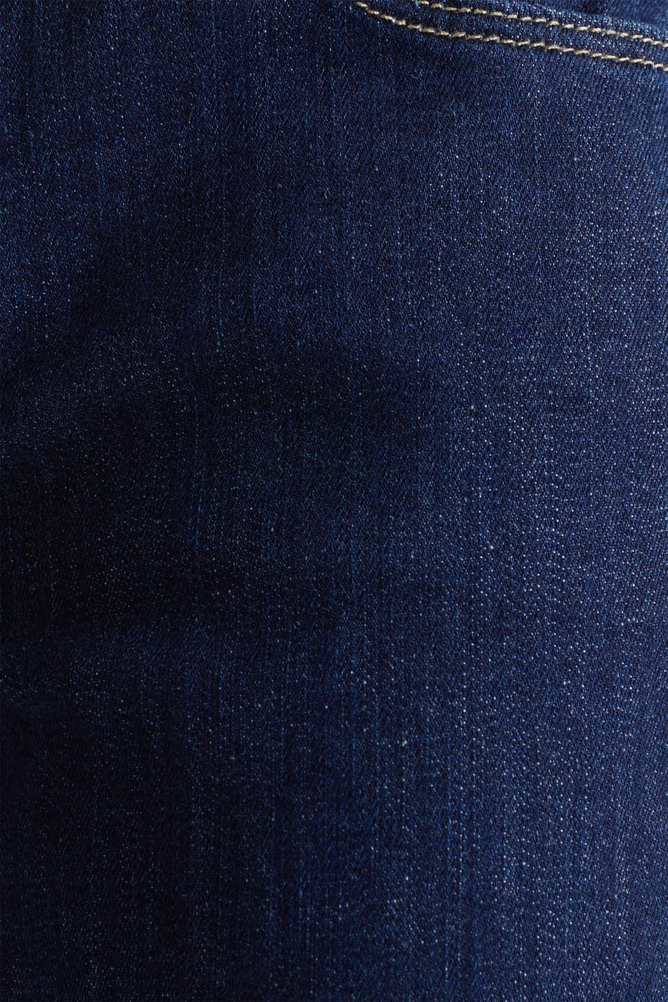 Jeans with a bandana tie-around belt, BLUE RINSE, detail image number 4