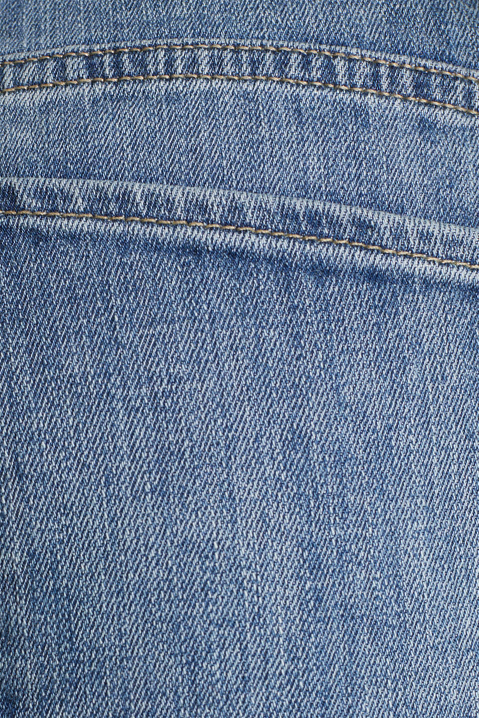 Jeans with a bandana tie-around belt, BLUE MEDIUM WASH, detail image number 4