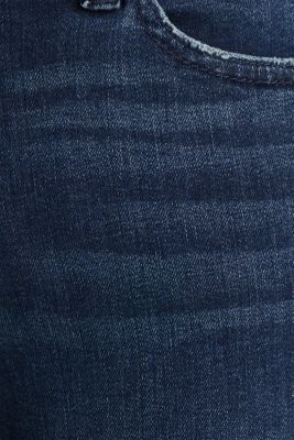 Jeans with tape details, BLUE DARK WASH, detail