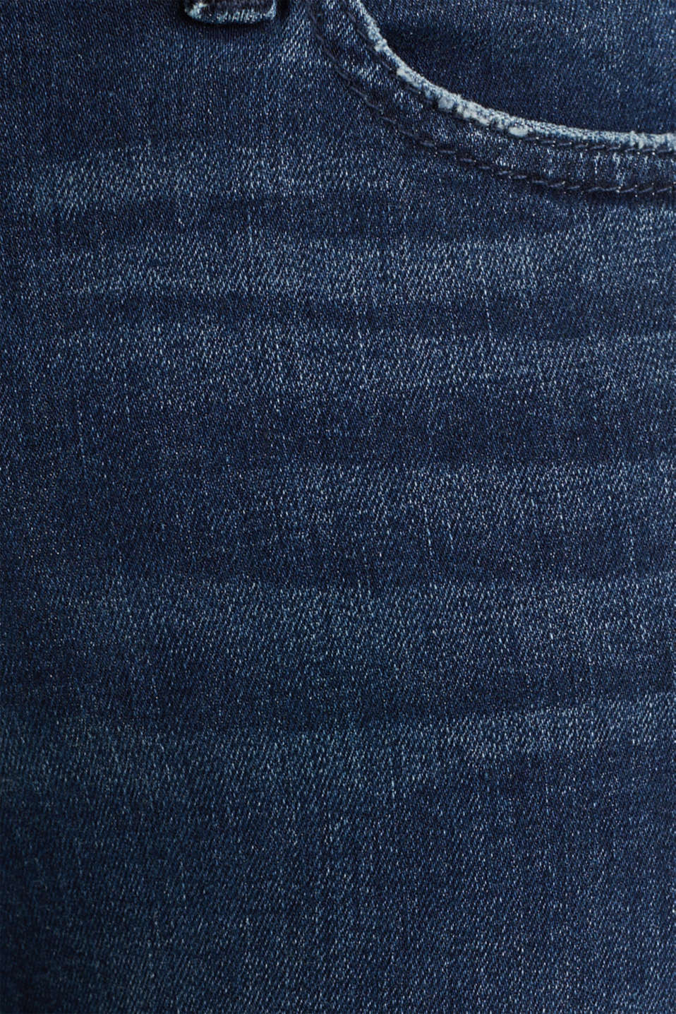 Jeans with tape details, BLUE DARK WASH, detail image number 4