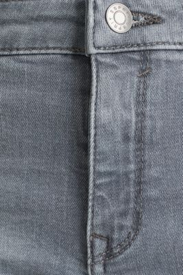 Jeans with tape details, GREY MEDIUM WASH, detail