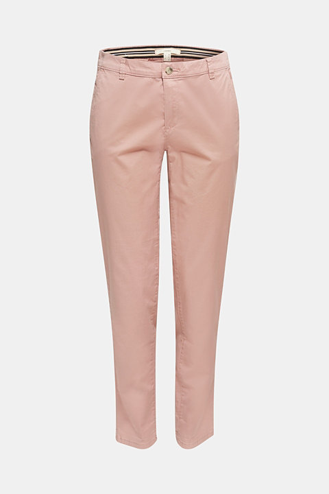 Cotton stretch chinos with Lycra xtra life™