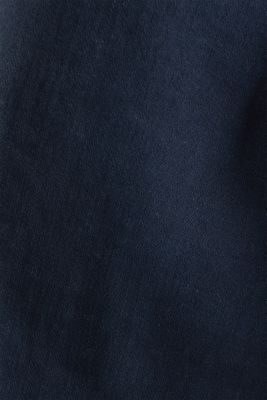 Jeans with a figure-contouring effect, NAVY, detail