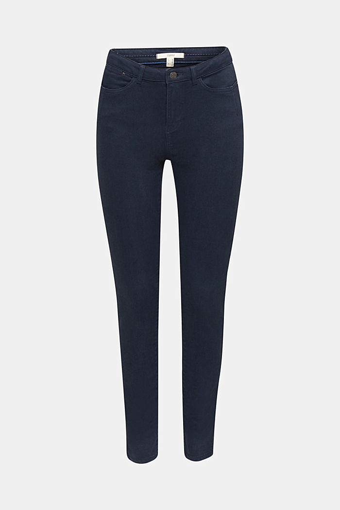 Jeans with a figure-contouring effect