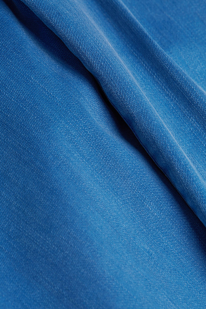 Jeans with a figure-contouring effect, BRIGHT BLUE, detail image number 4