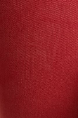 Jeans with a figure-contouring effect, DARK RED, detail