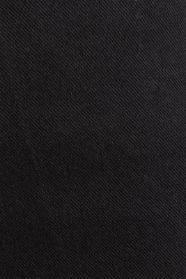 Denim culottes made of firm denim, BLACK, detail